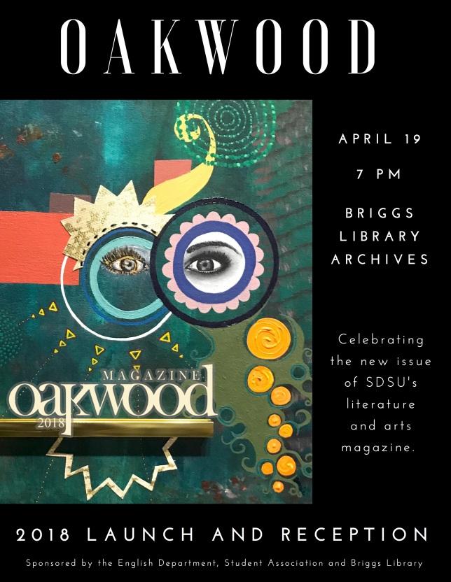 Oakwood library flyer